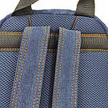 Джинсовий рюкзак SUZUKI, фото 4