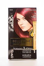 BELLE'FINE Фарба для волосся 7.6 Вишнево-червоний