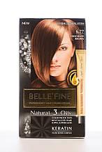 BELLE'FINE Фарба для волосся 6.77 Шоколадно-коричневий