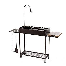 Мангал Bona Grill Складной Стандарт 800 +  Комплект дополнений