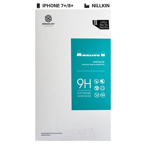 Захисне скло Nillkin для Apple iPhone 7 Plus / 8 Plus 3D AP+Pro White, фото 2