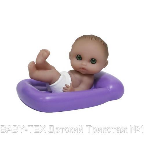 Пупс-малюк JC Toys плаваючий з матрацом, 13 см ШЛЮБ УПАКОВКИ