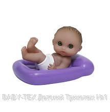 Пупс-малыш JC Toys плавающий с матрасом, 13 см БРАК УПАКОВКИ