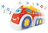Музыкальная машинка Keenway Пожарная Машина БРАК УПАКОВКИ, фото 2