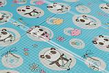 Дитячий двосторонній складаний килимок POPPET Пригоди ведмедиків і Танець панд,200х180х1см ШЛЮБ УПАКОВКИ, фото 8