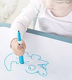 Дитячий функціональний столик POPPET Монохром і два стільчика ШЛЮБ УПАКОВКИ, фото 7