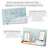 Дитячий функціональний столик POPPET Монохром і два стільчика ШЛЮБ УПАКОВКИ, фото 9