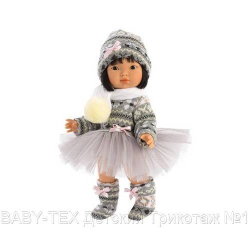 Шарнірна Лялька Лу, азіатка, брюнетка, 28 см (28034)