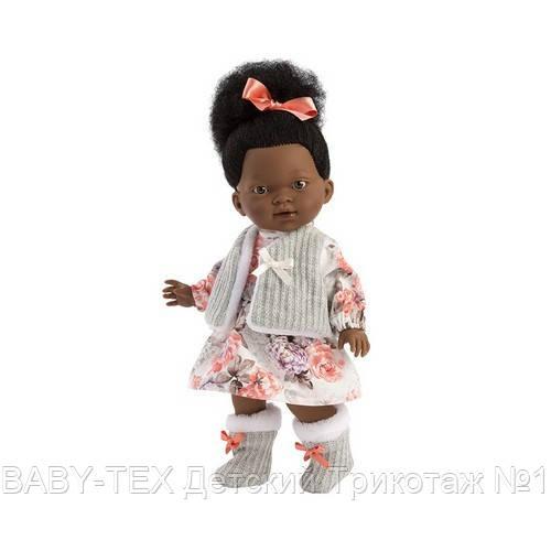 Лялька шарнірна Зої, мулатка, брюнетка, 28 см (28033)