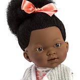 Лялька шарнірна Зої, мулатка, брюнетка, 28 см (28033), фото 2