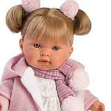 Лялька інтерактивна, Плакса Олександра, світло-русява в ліловому, зі звуком, 42 см (42262), фото 2