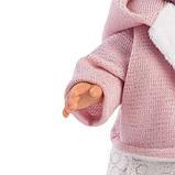 Лялька інтерактивна, Плакса Олександра, світло-русява в ліловому, зі звуком, 42 см (42262), фото 4
