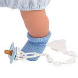 Інтерактивна Лялька, Плаксун Мігель, світло-русявий в блакитному, зі звуком, 42 см (42153), фото 4