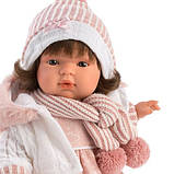 Інтерактивна Лялька, Плакса Лола, шатенка в рожево-білому, зі звуком, 38 см (38562), фото 2