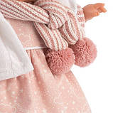 Інтерактивна Лялька, Плакса Лола, шатенка в рожево-білому, зі звуком, 38 см (38562), фото 3