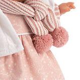 Лялька інтерактивна, Плакса Лола, шатенка в рожево-білому, зі звуком, 38 см (38562), фото 3