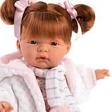 Лялька інтерактивна, Плакса Кейт, руда в біло-рожевому, зі звуком, 38 см (38342), фото 2