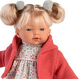 Інтерактивна Лялька, Плакса Айтана, блондинка в кораловому, зі звуком, 33 см (33124), фото 2