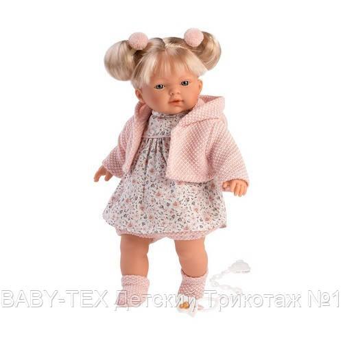 Лялька інтерактивна, Плакса Роберта, блондинка в світло-рожевому, зі звуком, 33 см (33118)