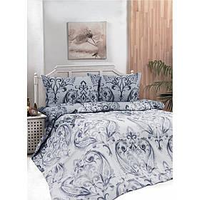 Постельное белье Iris Home Ranforce - Castle серый полуторное