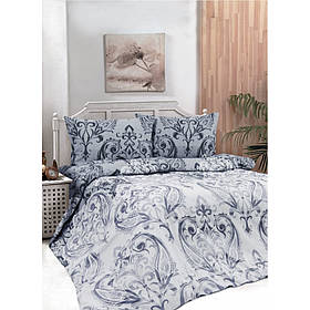 Постельное белье Iris Home Ranforce - Castle серый евро