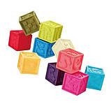Розвиваючий ігровий набір NUKIED Сенсорика, 15 силіконових предметів (NUK-019), фото 3
