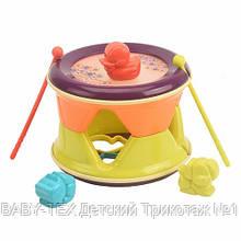 Развивающая игрушка NUKIED Барабан Трам-там-там 2 в 1 (NUK-009)
