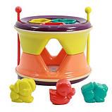 Развивающая игрушка NUKIED Барабан Трам-там-там 2 в 1 (NUK-009), фото 3