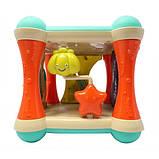Розвиваючий ігровий бизикуб NUKIED 6 в 1 Атлантида, зі звуком і світлом (NUK-008), фото 7