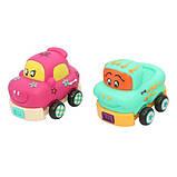 Игровой набор NUKIED Забавный мини-гараж, Рози и Алекс, инерционные машинки, со звуком (NUK-006), фото 4