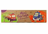 Ігровий набір NUKIED Кумедний міні-гараж, інерційні машинки, зі звуком (NUK-005), фото 4
