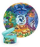 Круглий пазл «У світі тварин», 150 частин (MD3099), фото 3