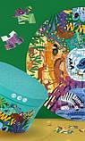 Круглий пазл «У світі тварин», 150 частин (MD3099), фото 7