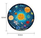 Круглий пазл «Космічна подорож», 150 частин (MD3082), фото 3