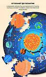 Круглий пазл «Космічна подорож», 150 частин (MD3082), фото 4