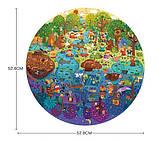 Круглый пазл «День в лесу», 150 частей, MIDEER (MD3075), фото 5