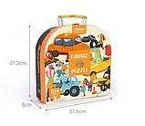 Пазл у валізці «Гараж», 104 частини, MIDEER (MD3078), фото 2