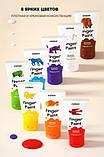 Дитячі пальчикові фарби, 8 кольорів (MD4110), фото 4