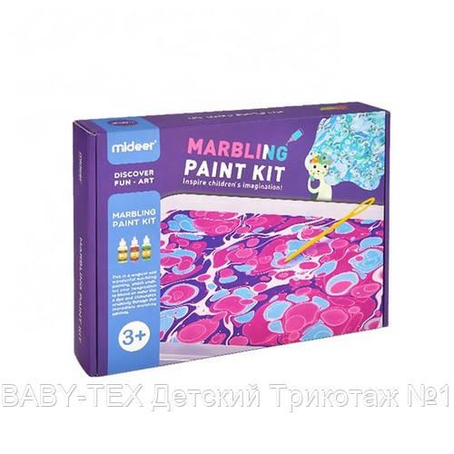 Набор для творчества, рисование по воде «Мраморные краски» (MD4131)