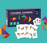 Мозаїка-Танграм «Кольорова», 50 карток і 7 фігур (MD1035), фото 2