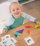 Мозаїка-Танграм «Кольорова», 50 карток і 7 фігур (MD1035), фото 10
