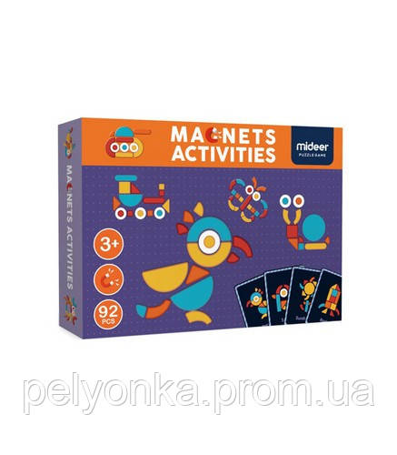 Магнітна книга-гра «Геоформы» , 92 частини (MD1041)