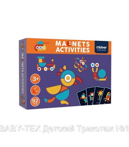 Магнитная книга-игра «Геоформы» , 92 части (MD1041)