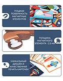 Магнитная книга-игра «Геоформы» , 92 части (MD1041), фото 6