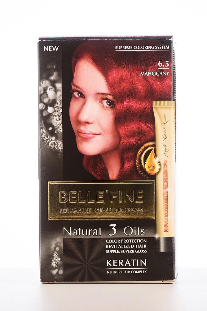 BELLE'FINE Фарба для волосся 6.5 Махагон