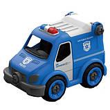 Полицейский грузовик на р/у, 21 деталь, конструктор (LM8022-YZ-1), фото 2