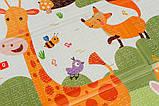 Дитячий двосторонній складаний килимок POPPET Весела жирафа і Загадковий ліс, 150х180х1 см (PP009-150), фото 5
