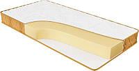 Ортопедический матрас спальный Релакс плюс беспружинный на кровать высота 16 см двусторонний