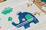 Дитячий двосторонній складаний килимок POPPET Лісові жителі і Добрі сусіди, 150х180х1 см PP008-150), фото 6