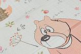 Детский двусторонний складной коврик POPPET Лесные жители и Добрые соседи, 150х180x1 см PP008-150), фото 7